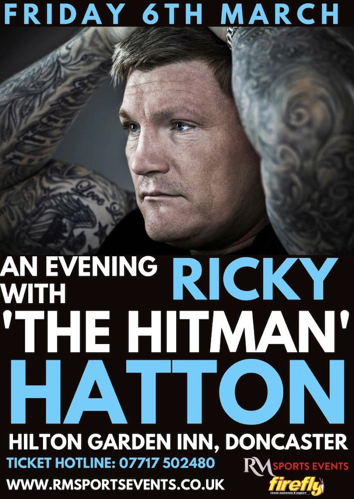 Ricky Hatton Doncaster